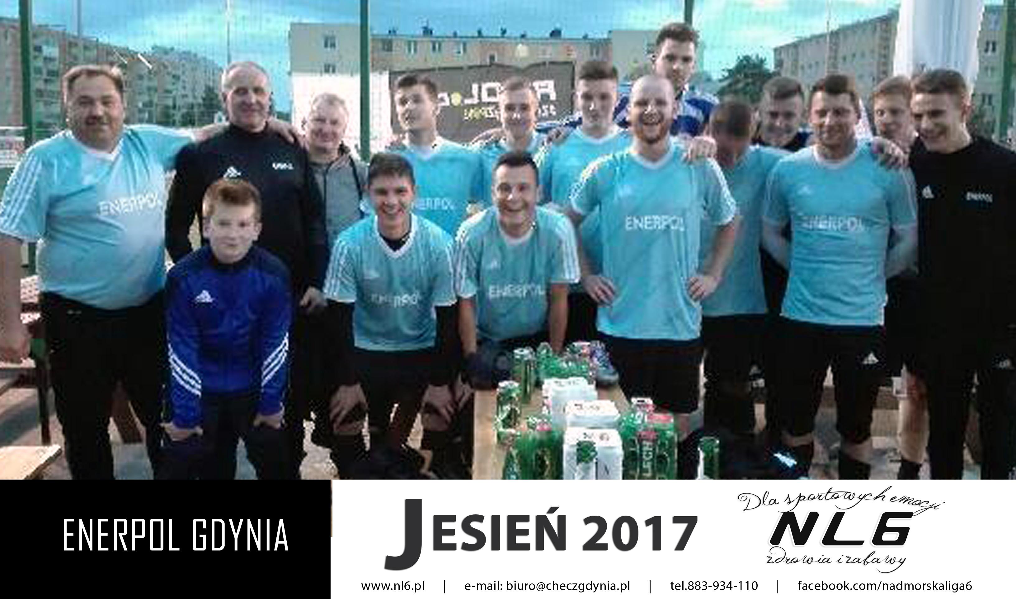 a6de407467d110 Statystyki Enerpol Gdynia - Nadmorska Liga 6