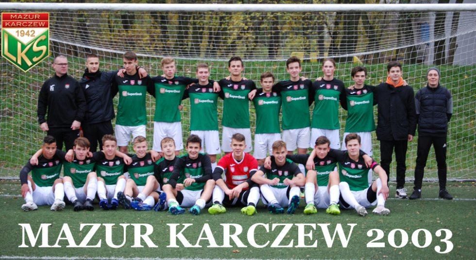 0688bc334 Mazur Karczew 2003 - Futbolowo.pl