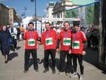 EXiacy w 6 Półmaratonie Warszawskim