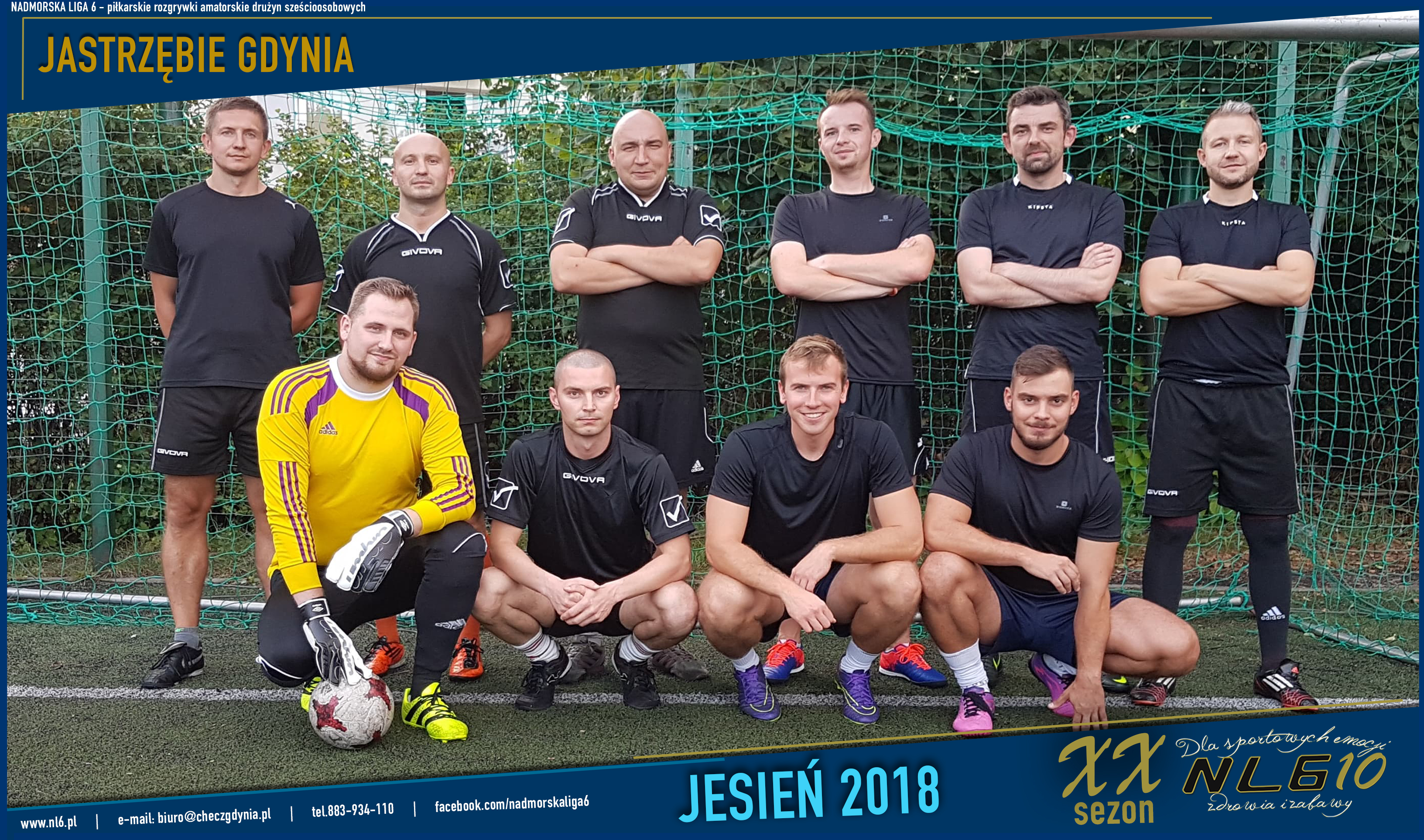 e719280d346133 Statystyki Jastrzębie Gdynia - Nadmorska Liga 6