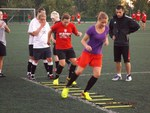 Trening grupy naborowej i drugiego zespołu 1.FC AZS AWF Katowice - 06.09.2013