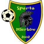 herb KS Sparta Mierk�w