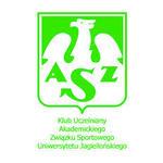 herb AZS KU UNIWERSYTETU W-WY