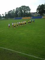 24.08.2014 - mecz z LKSem Lubochnia