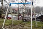 Prace na boisku przy ul. Solidarności 6 - 09.12.17, fot. P.Biela