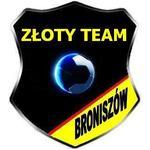 herb Złoty Team Broniszów