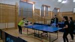 Drużynowy Tenis Stołowy - powiat 15.12.15r. Tomaszów Lubelski