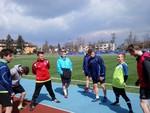 Sztafety 4 x 100m i szwedzkie - 26.04.16r. Tomaszów Lubelski