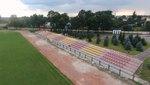 Stadion -fotka z drona