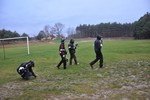 Paintball :) było ciepło