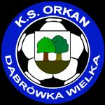 herb KS Orkan Dąbrówka Wielka