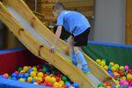 Trening w sali zabaw