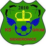 herb KS GROM Siekierowice