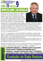 Kandydat do Rady Powiatu Wadowickiego