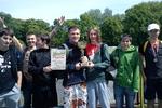 SZKOŁA ZSP NR 1 W STRZELINIE ZWYCIĘSKA - POLSKA BIEGA 2012 - PARK MIEJSKI W STRZELINIE
