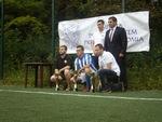 Dekoracja najlepszych w sezonie 2013/14 Nike Playarena Bytom (01.07.2014); Fot. Karolina Radys