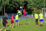 Trening przed pucharowym meczem z MKS Kluczbork (fot. A. Ryska)