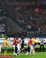 Dzieci na meczu Wisła Kraków v APOEL Nikozja