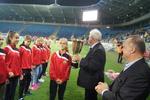 ARENA LUBLIN - wręczanie medal za III miejsce w Polsce