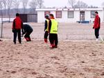 Trening na plaży <br><i><b>fot. Piotr Jaworski</b></i>