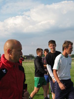 Trening 27.07.2010r.<br><i>fot. P. Jaworski</i>