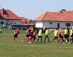 Inauguracja rundy wiosennej Tarnobrzeg - młodzik starszy 11.04.2015