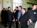 Spotkanie Wójta z działaczami sportowymi (12.02.12)