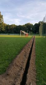 Remont stadionu - nawodnienie płyty boiska