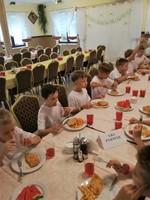 Obóz sportowy - obiad