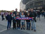 Mecz Górnik Zabrze - Piast Gliwice, 1.10.2017 r.