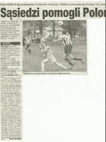 Wycinki gazet sezonu 2005/06