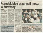 Wycinki gazet sezonu 2007/08