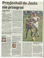 Wycinki gazet sezonu 2008/09