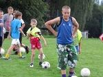 Trening trampkarzy młodszych PKS UNUM - 19.08.2011