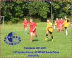 Trampkarze 2001-2002,  28.08.2014.r. ŁKS Społem Zabrze-KS MOSiR Sparta Zabrze