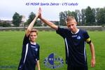 Trampkarze 2001-2002 09.09.2014.r. KS MOSiR Sparta Zabrze  - ŁTS Łabędy