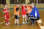 Trening najmłodszych piłkarzy LKS Szubinianki Szubin