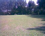 Prace na boisku GROMu 2009