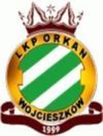 """herb LKP """"Orkan"""" Wojcieszków"""