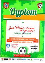 15.03.2014 III Halowy Turniej Piłki Nożnej w Siedlcach r. 2005