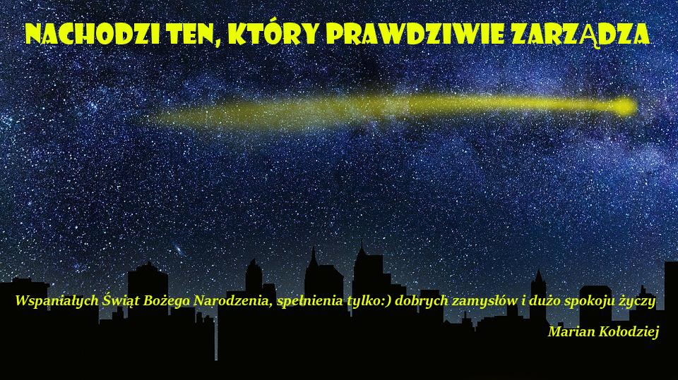 Boże Narodzenie 2017 Marian Kołodziej